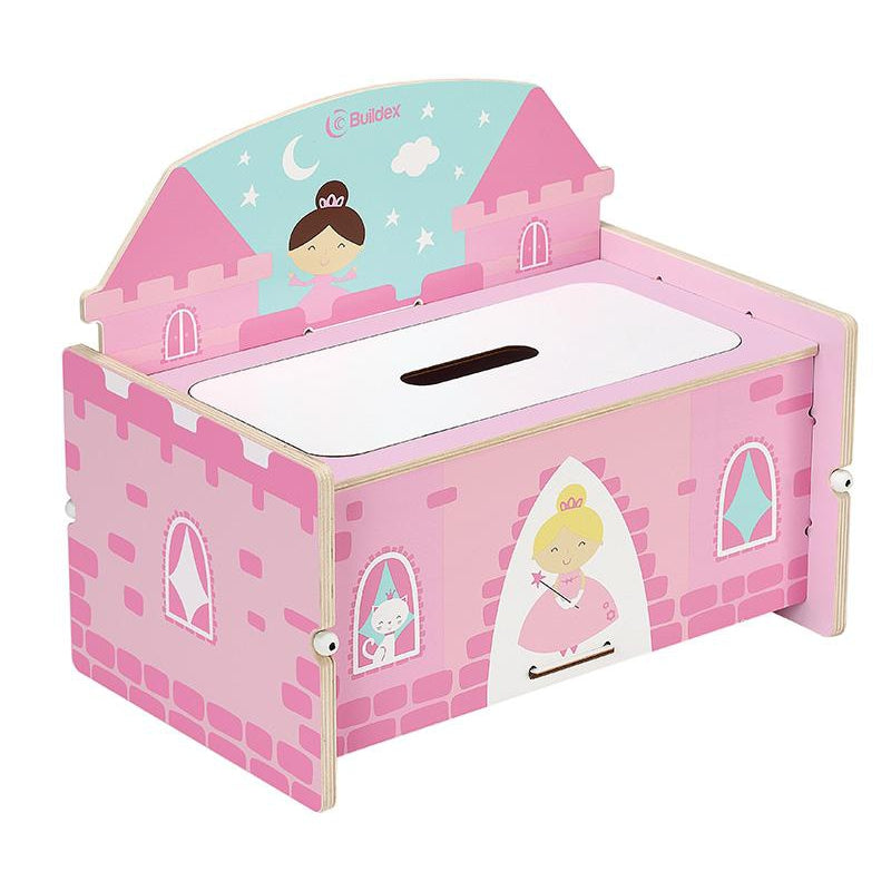 Buildex™ Build N Play Princess Castle Storage Bench