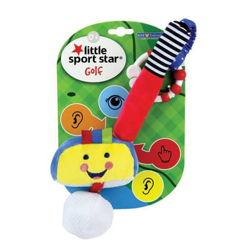 Little Sport Star® On-the-Go-Clip Soft Golf Club with Ball