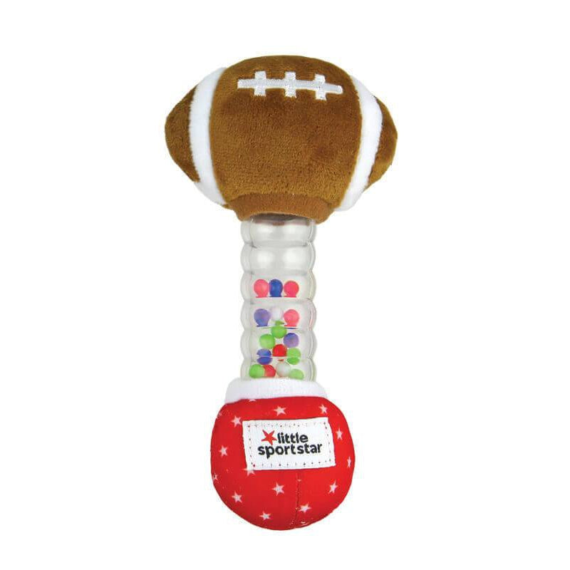 Little Sport Star® Football Rainstick Rattle