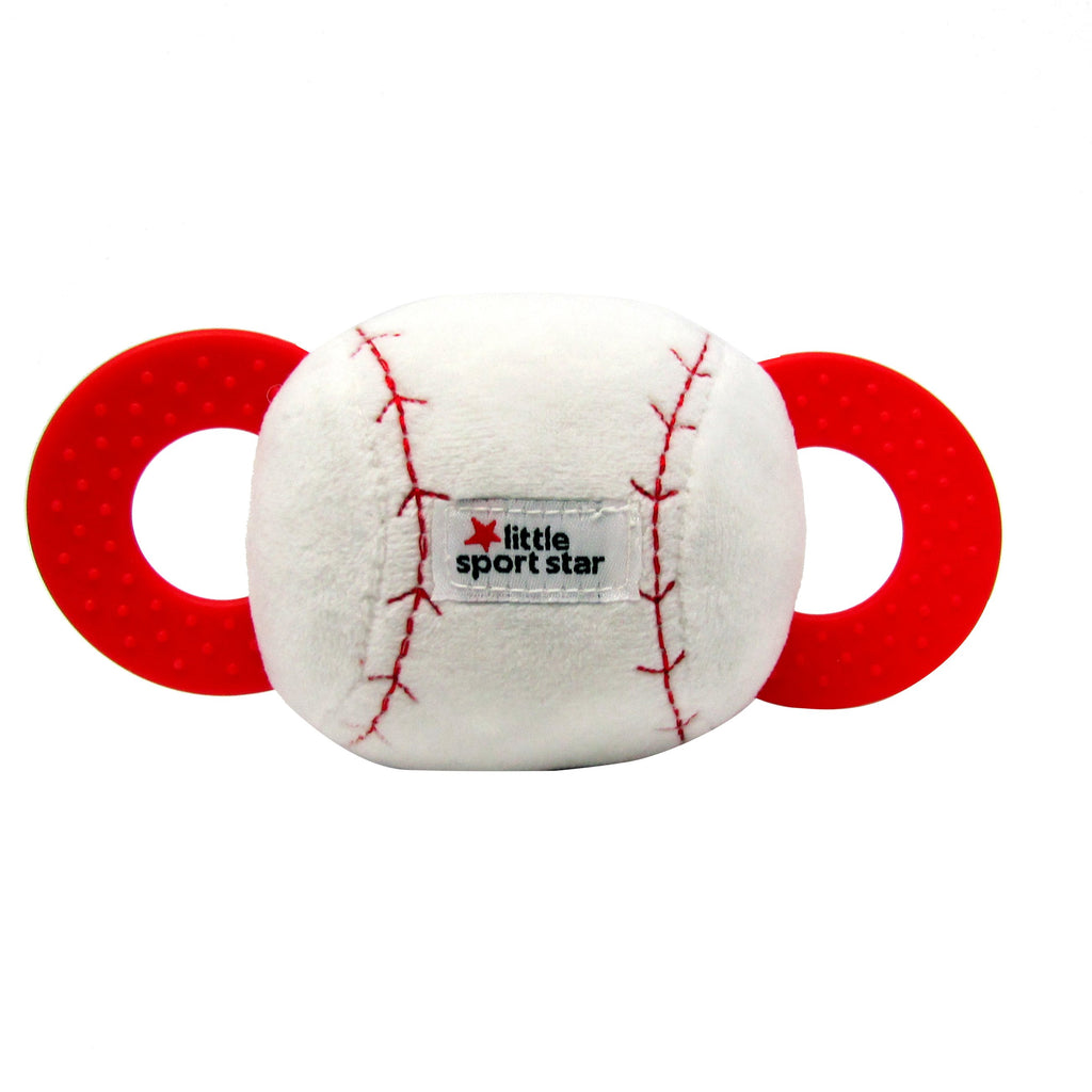 Little Sport Star® Soft Activity Baseball with Teethers