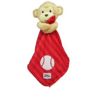 Little Sport Star® Blanky Baseball Monkey