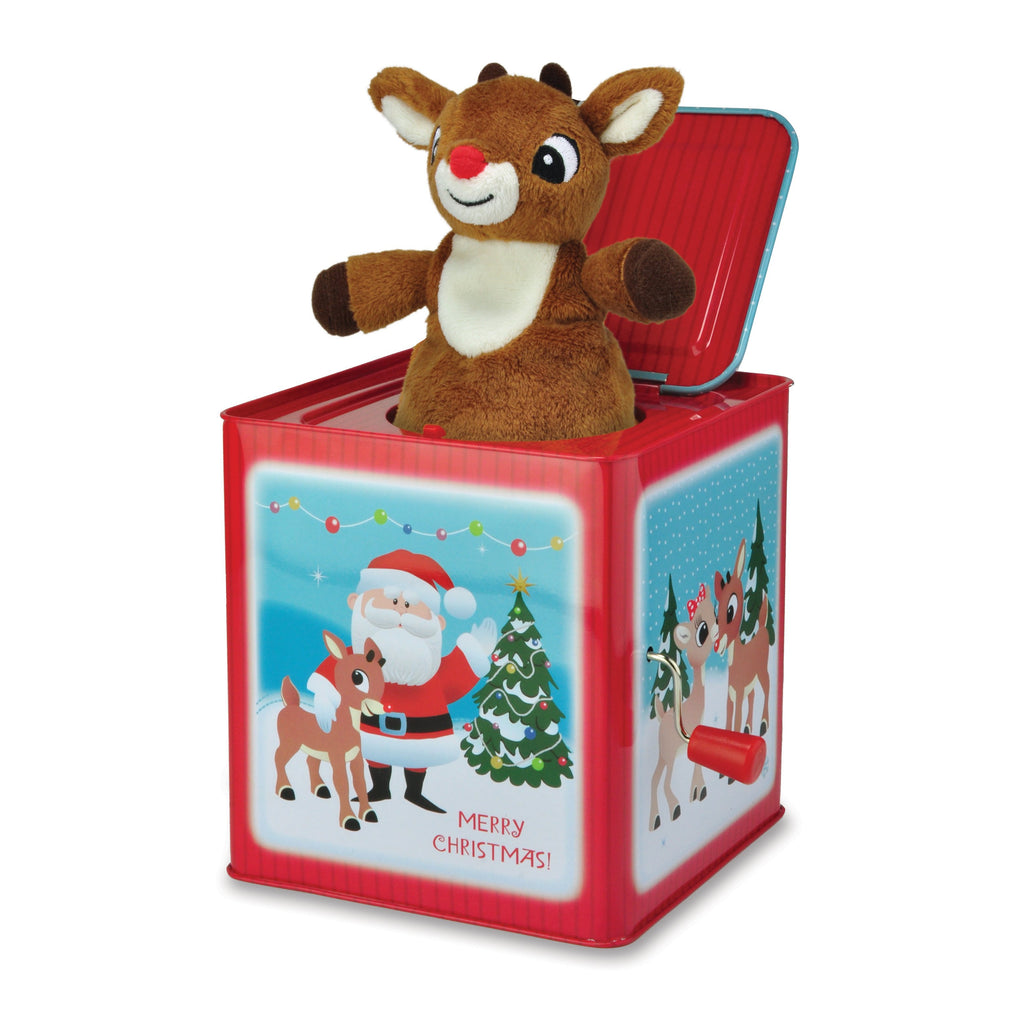 Rudolph the Red-Nosed Reindeer® Jack-In-The-Box
