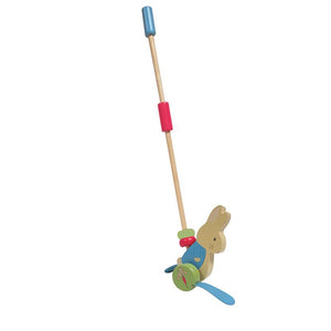 Peter Rabbit™ Peter Rabbit Wood Push Toy from Kids Preferred 81787241503 24150