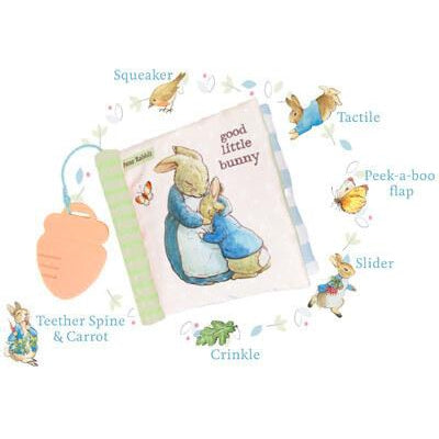 Peter Rabbit™ Soft Book with Teether