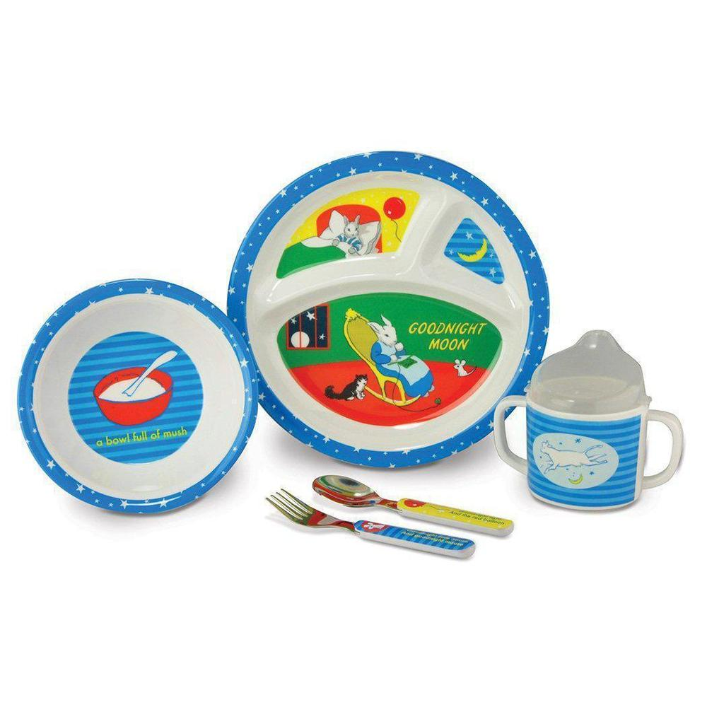 Goodnight Moon 5-Piece Melamine Dish Set from Kids Preferred 81787333307 33330