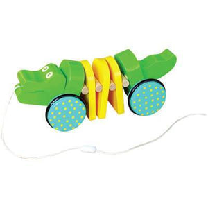 Windsor™ Click Clack Crocodile Pull Toy from Kids Preferred 81787371026 37102
