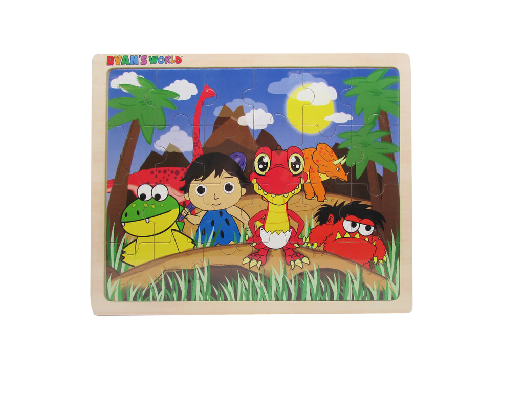 Ryan's World - Ryan's Dinosaur & Friends 24 Pc. Jigsaw Puzzle