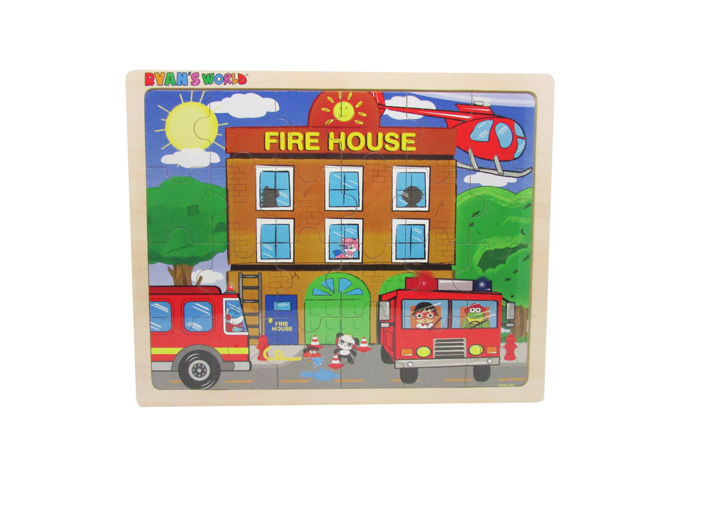 Ryan's World - Ryan's Fire Rescue 24 pc. Jigsaw Puzzle
