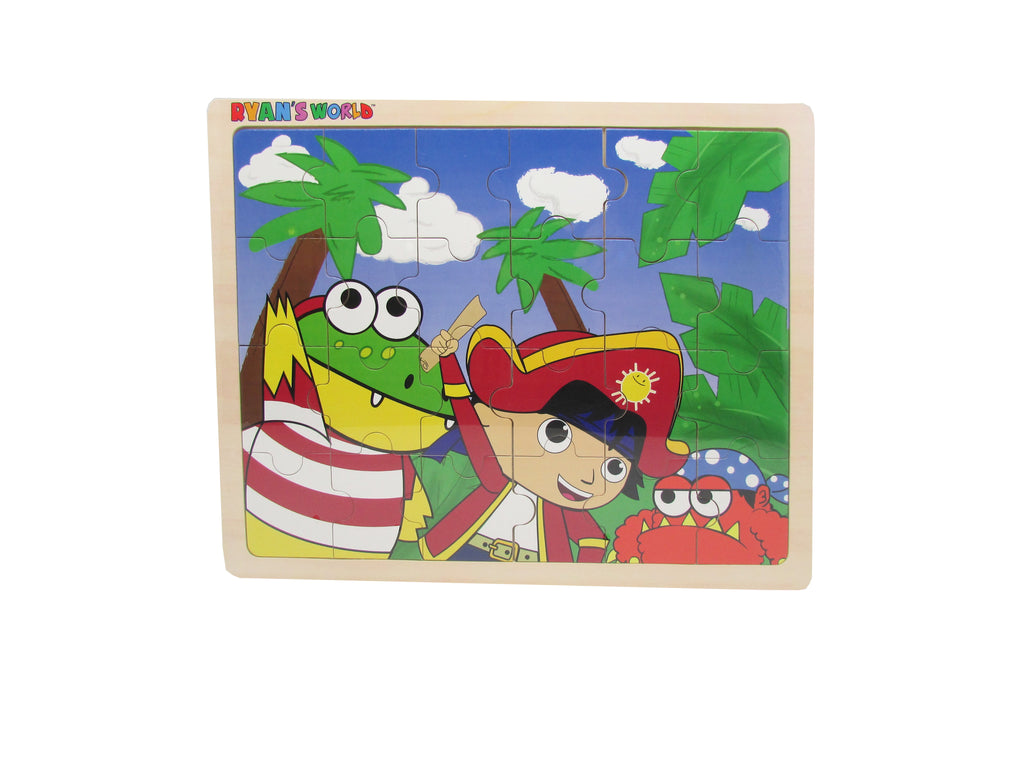 Ryan's World - Ryan's Pirate Adventure 24 pc. Jigsaw Puzzle