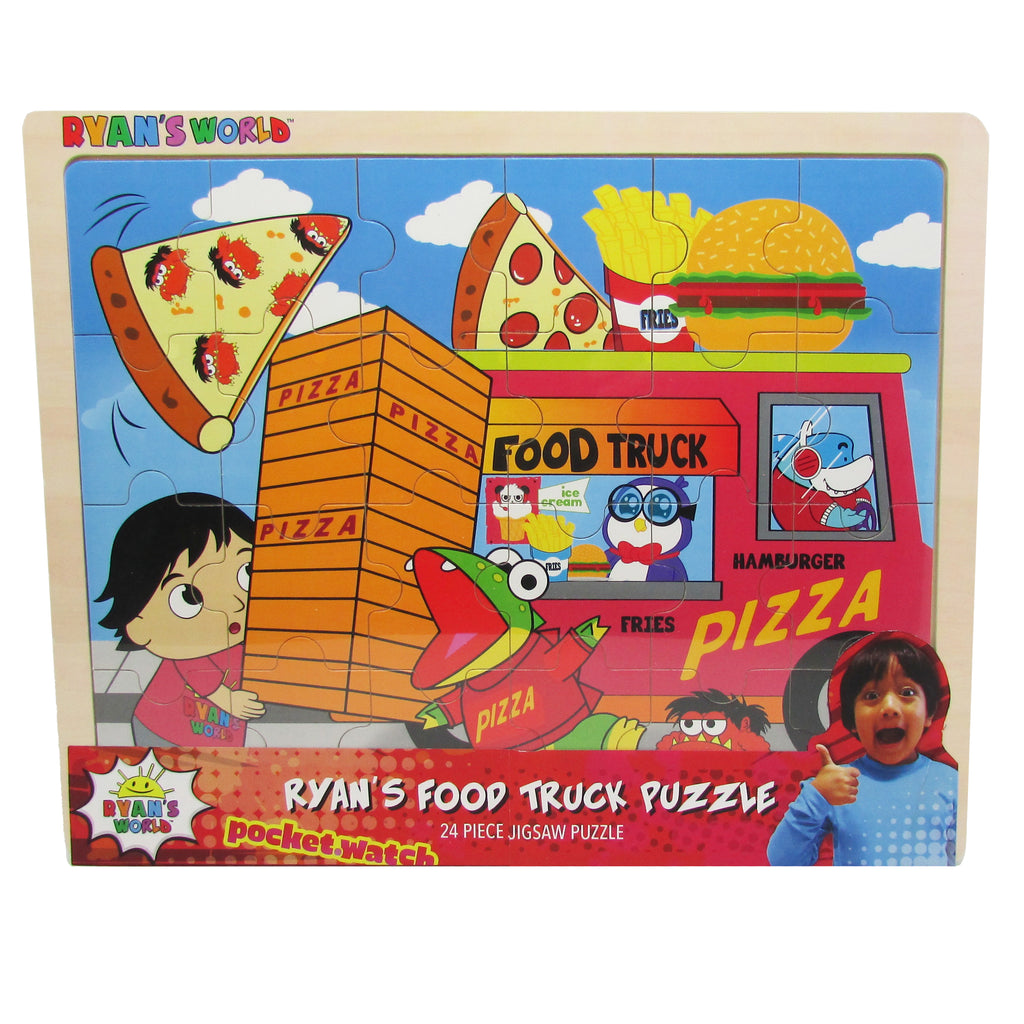 Ryan's World - Ryan's Food Truck 24 pc. Jigsaw Puzzle