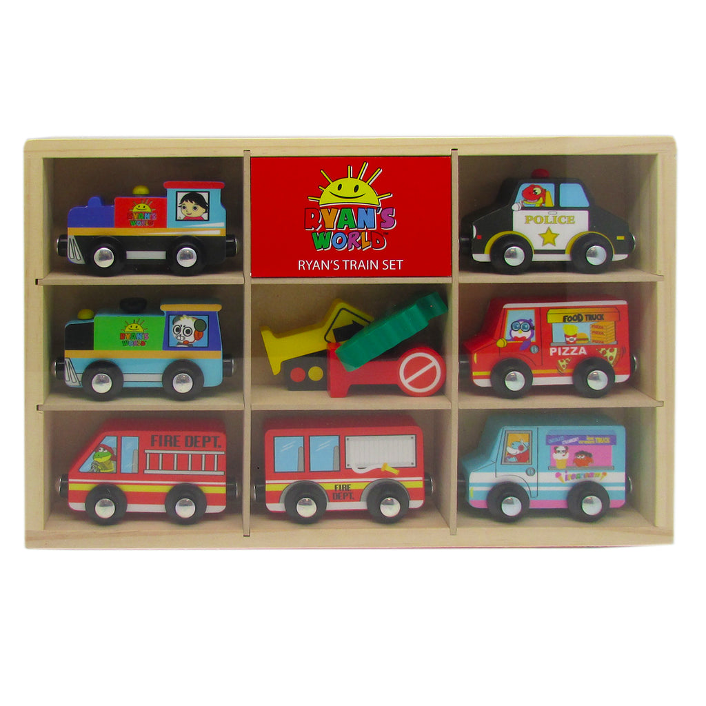 Ryan's World -  7 piece Vehicle Set and Accessories