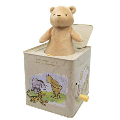 Disney Baby™ Classic Pooh Jack-in-the-Box
