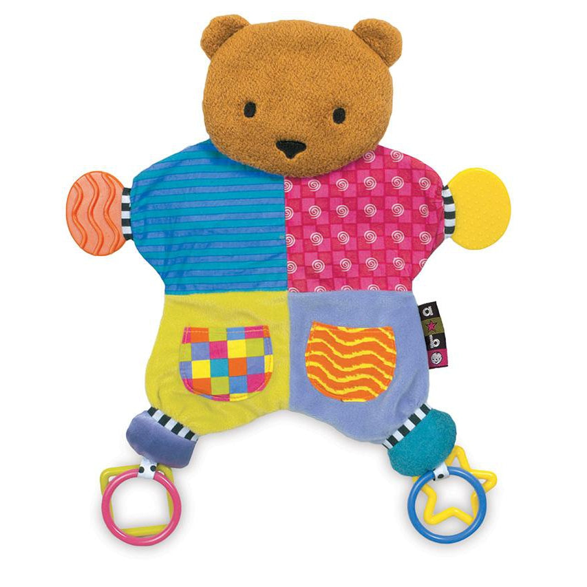 Amazing Baby™ Bear Blanket Teether