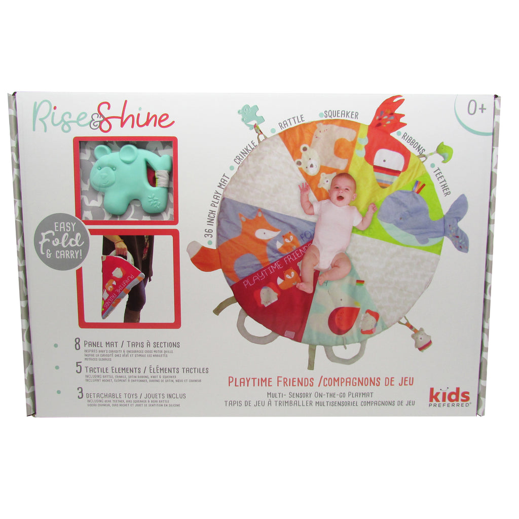 Rise & Shine™ Playtime Friends On-The-Go Playmat