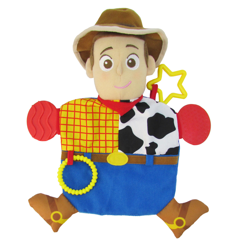 Disney•Pixar Toy Story Woody Teether Activity Blanket