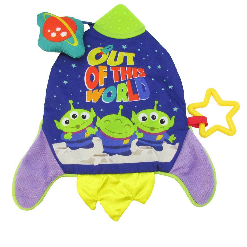Disney•Pixar Toy Story Buzz Lightyear Teether Activity Blanket