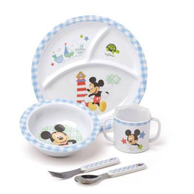 Disney Baby™ Mickey Mouse 5-Piece Melamine Dish Set