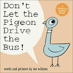 Mo Willems - Don't Let the Pigeon Drive the Bus! Hardcover Book from Kids Preferred 081787835047 83504