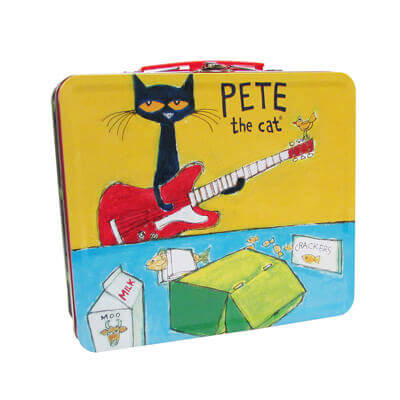 Pete The Cat® Retro Tin Lunch Box