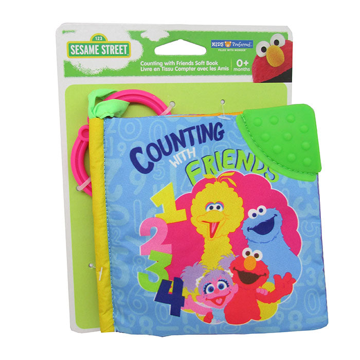 Sesame Street ® Counting with Friends Soft Book