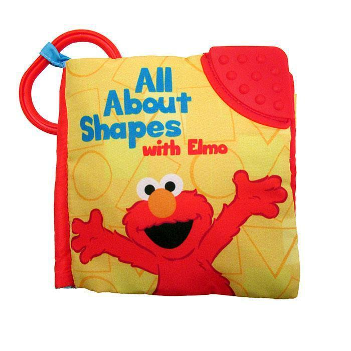 Sesame Street ® All About Shapes with Elmo Soft Book from Kids Preferred 081787914032 91403