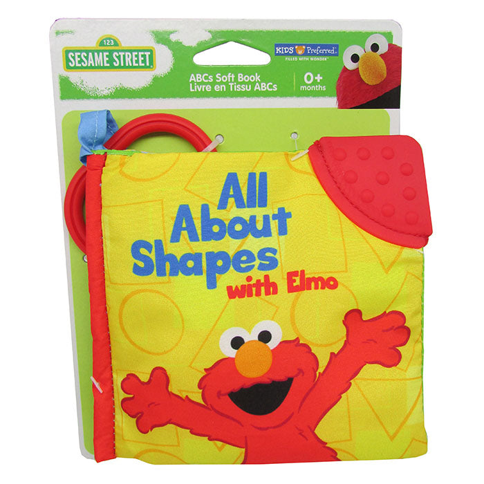 Sesame Street ® All About Shapes with Elmo Soft Book