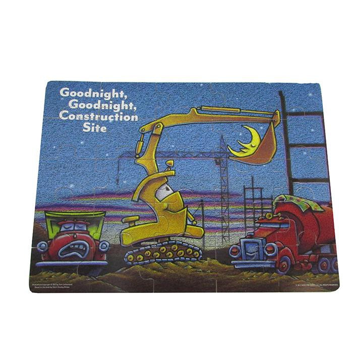 Goodnight, Goodnight Construction Site 25-piece Wooden Jigsaw Puzzle
