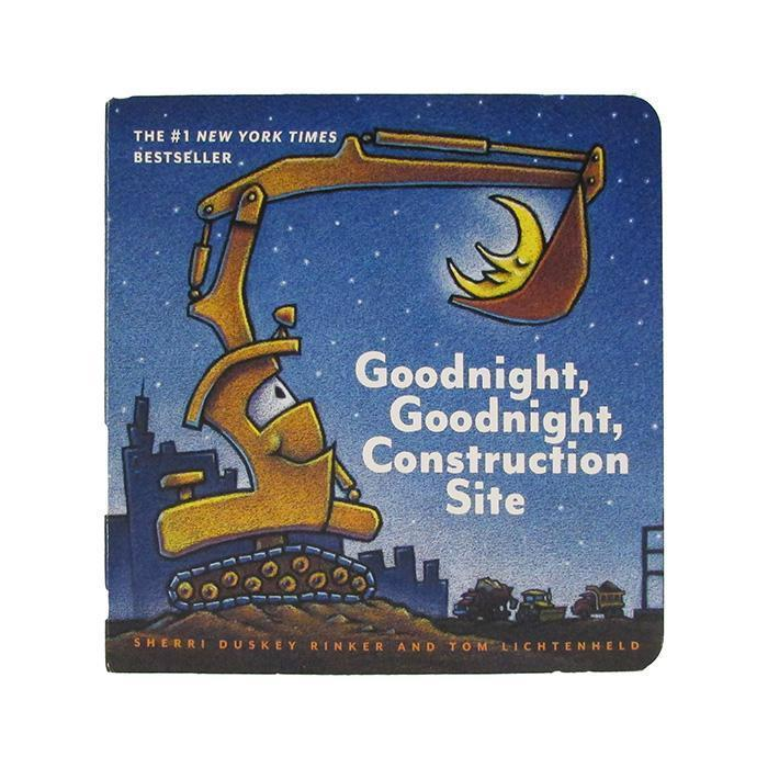 Goodnight, Goodnight Construction Site Board Book from Kids Preferred 081787915183 91518