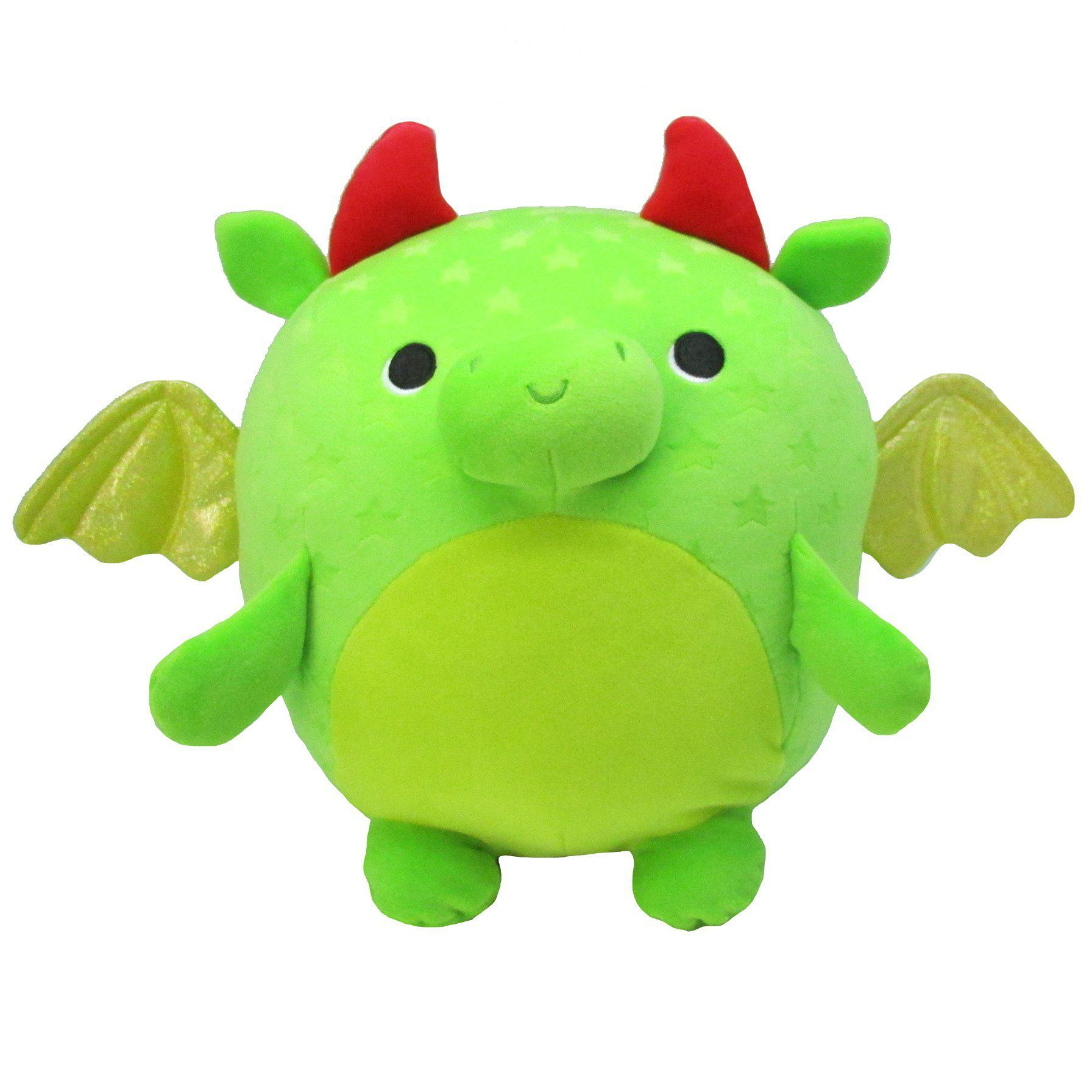 Cuddle Pals™  Round Huggables Kiwi The Dragon™ Stuffed Animal