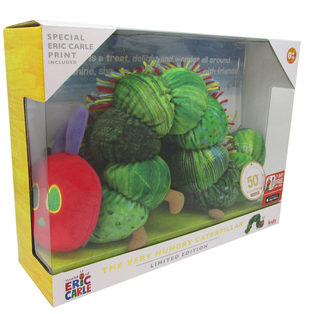 The Very Hungry Caterpillar™  50th Birthday Plush & Print Set