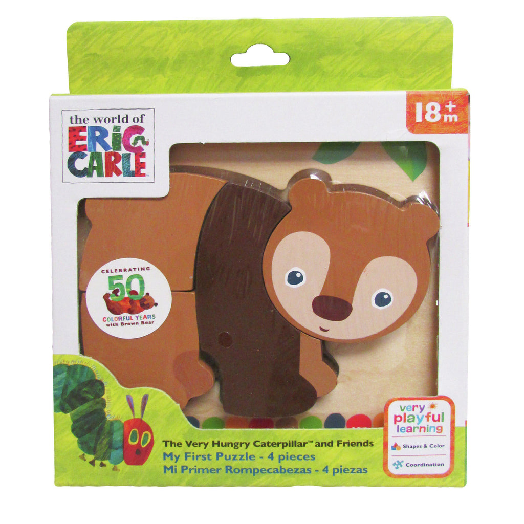 The World of Eric Carle™ The Very Hungry Caterpillar™ and Friends Brown Bear Puzzle
