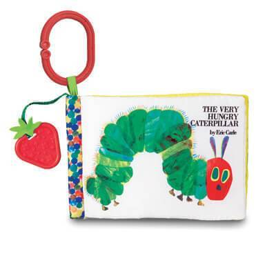 The World of Eric Carle™ Soft Book w/ Strawberry Teether from Kids Preferred 81787966802 96680