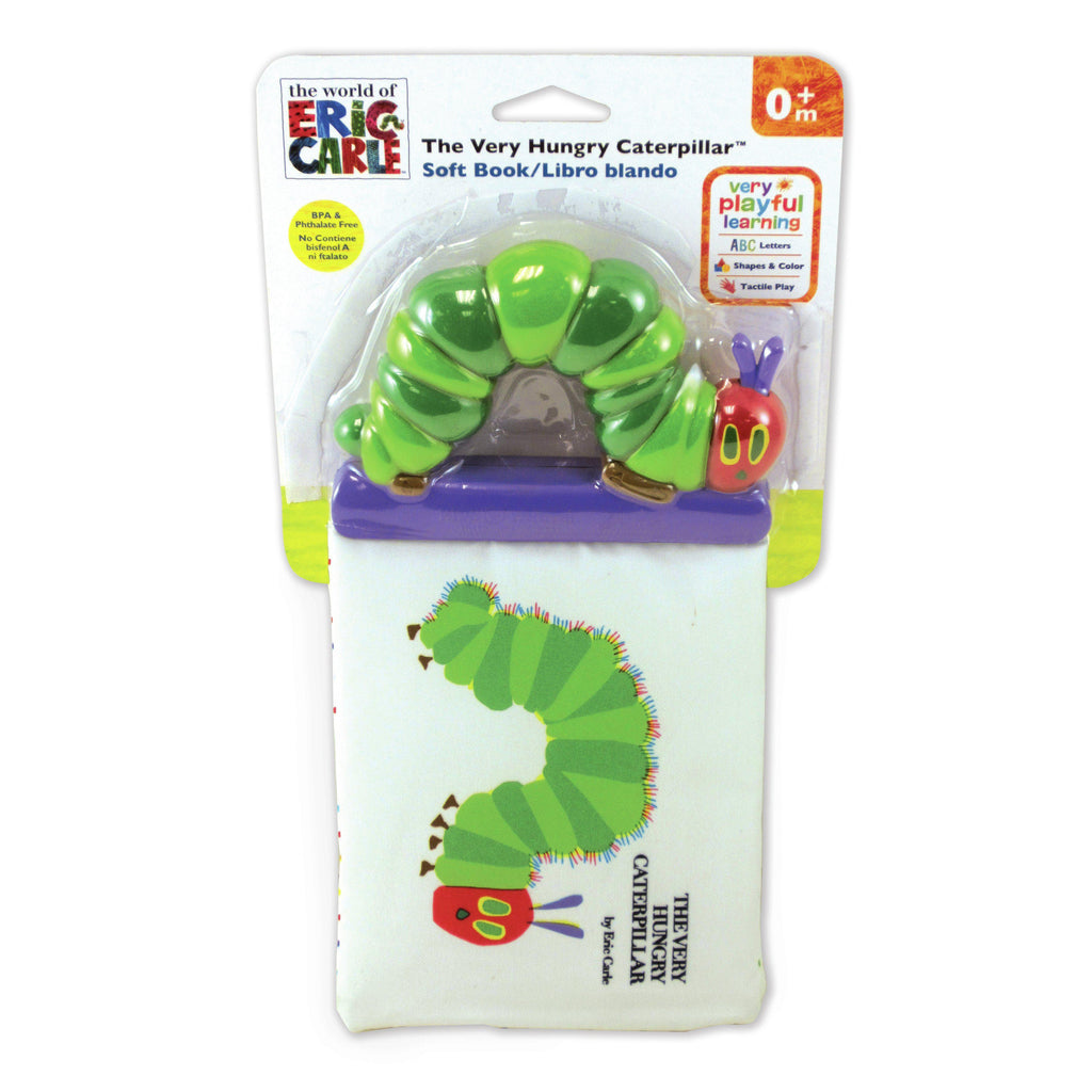 The World of Eric Carle™ The Very Hungry Caterpillar™ Soft Book with Plastic Spine