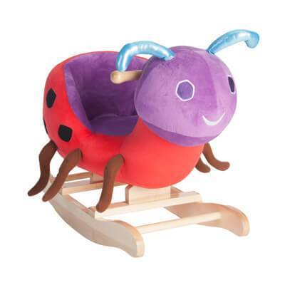 The World of Eric Carle™ Ladybug Rocker from Kids Preferred 81787968011 96801