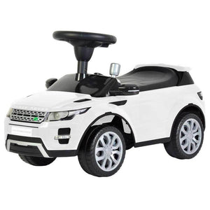 Licensed to Ride-On White Land Rover Range Rover Evoque with Sound from Kids Preferred 81787968486 96848