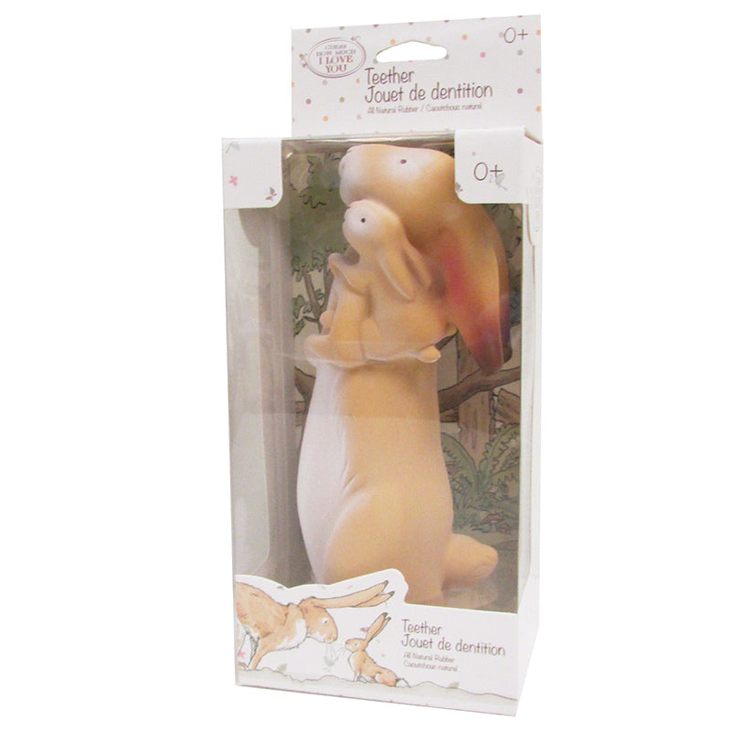 Guess How Much I Love You™ All Natural Rubber Teether Nutbrown Hare