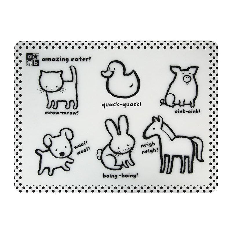Amazing Baby™ Animals Silicone Placemat