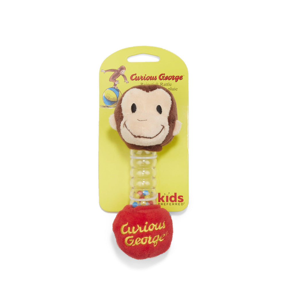 Curious George® Rainstick Rattle