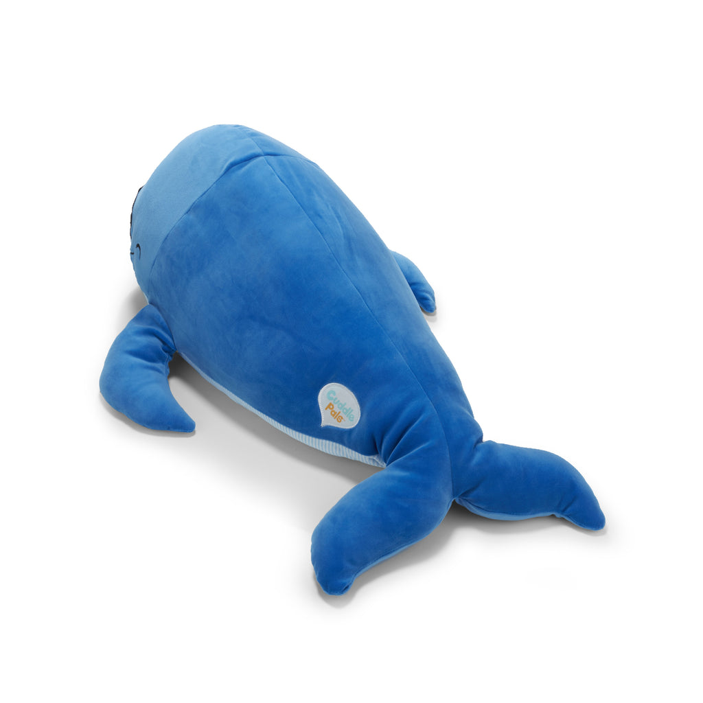 Cuddle Pals™ Bubbles the Blue Whale Hug Pillow