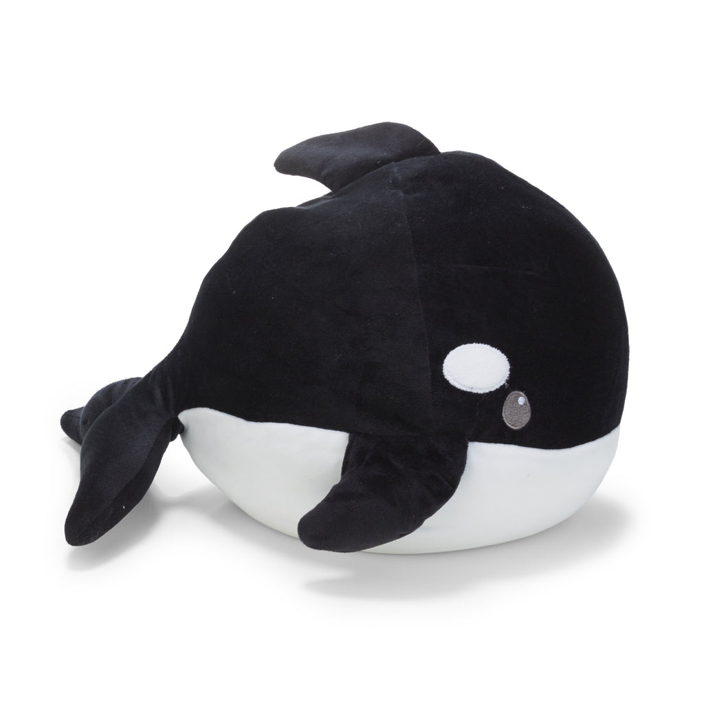 Cuddle Pals™ Pepper Round Orca Whale Stuffed Animal