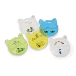 Pete The Cat® 5 Piece Plastic Plate Set