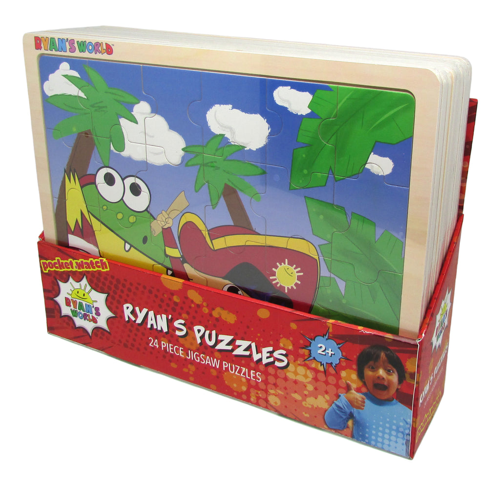 Ryan's World Jigsaw Puzzle Assortment