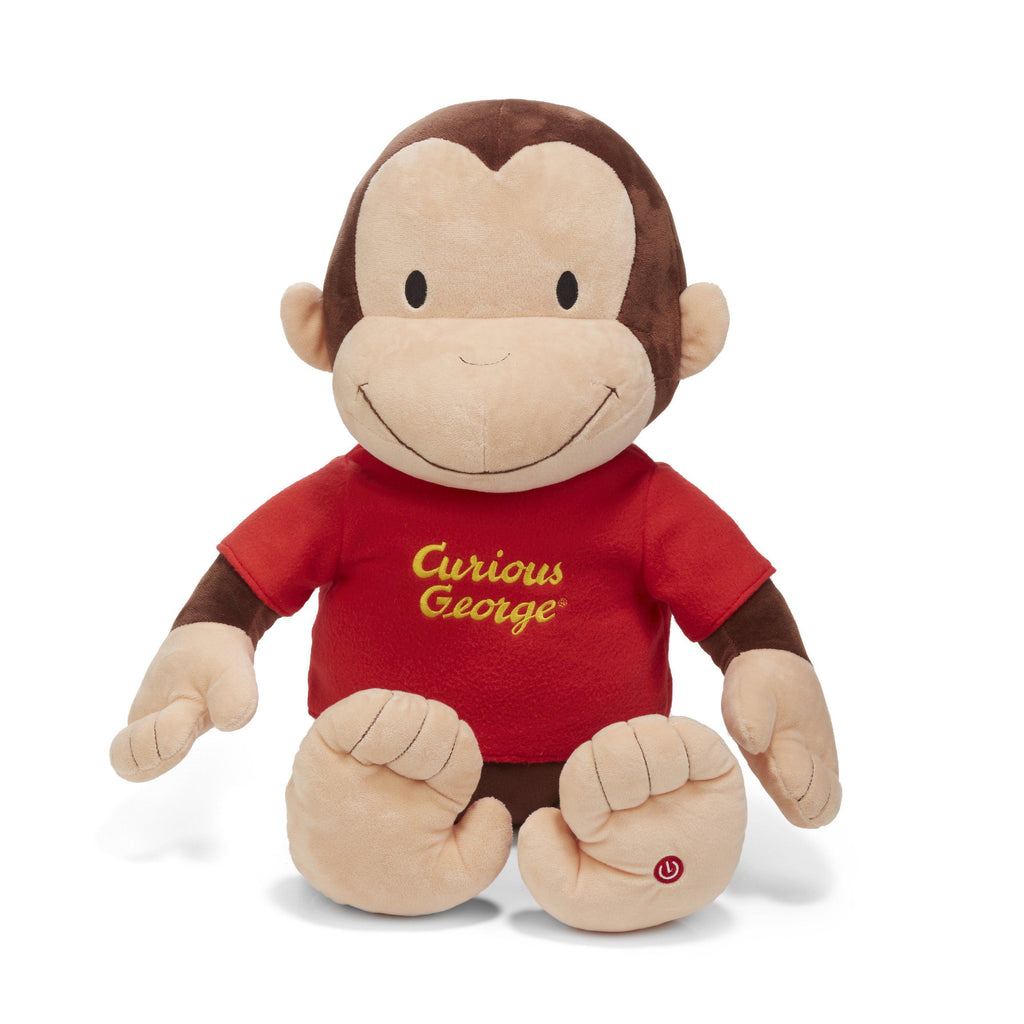 Curious George® Jumbo Plush with Sound