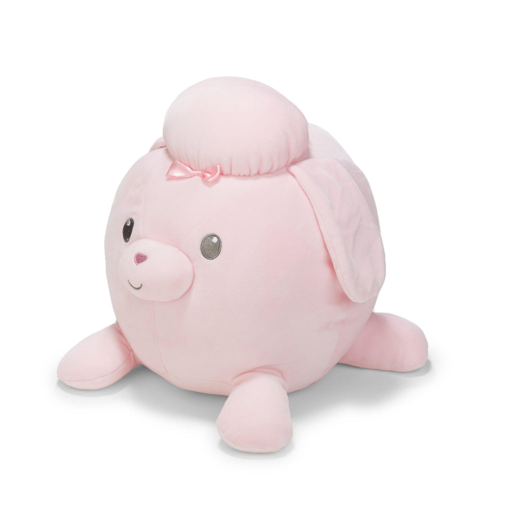 Cuddle Pals® Round Pink Poodle Stuffed Animal-90874-Kids Preferred