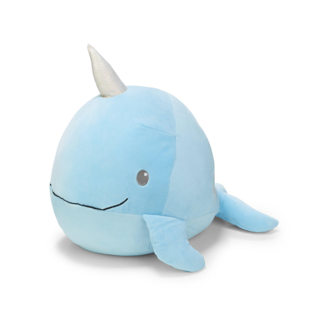 Cuddle Pals® Round Narwhal Stuffed Animal-90872-Kids Preferred