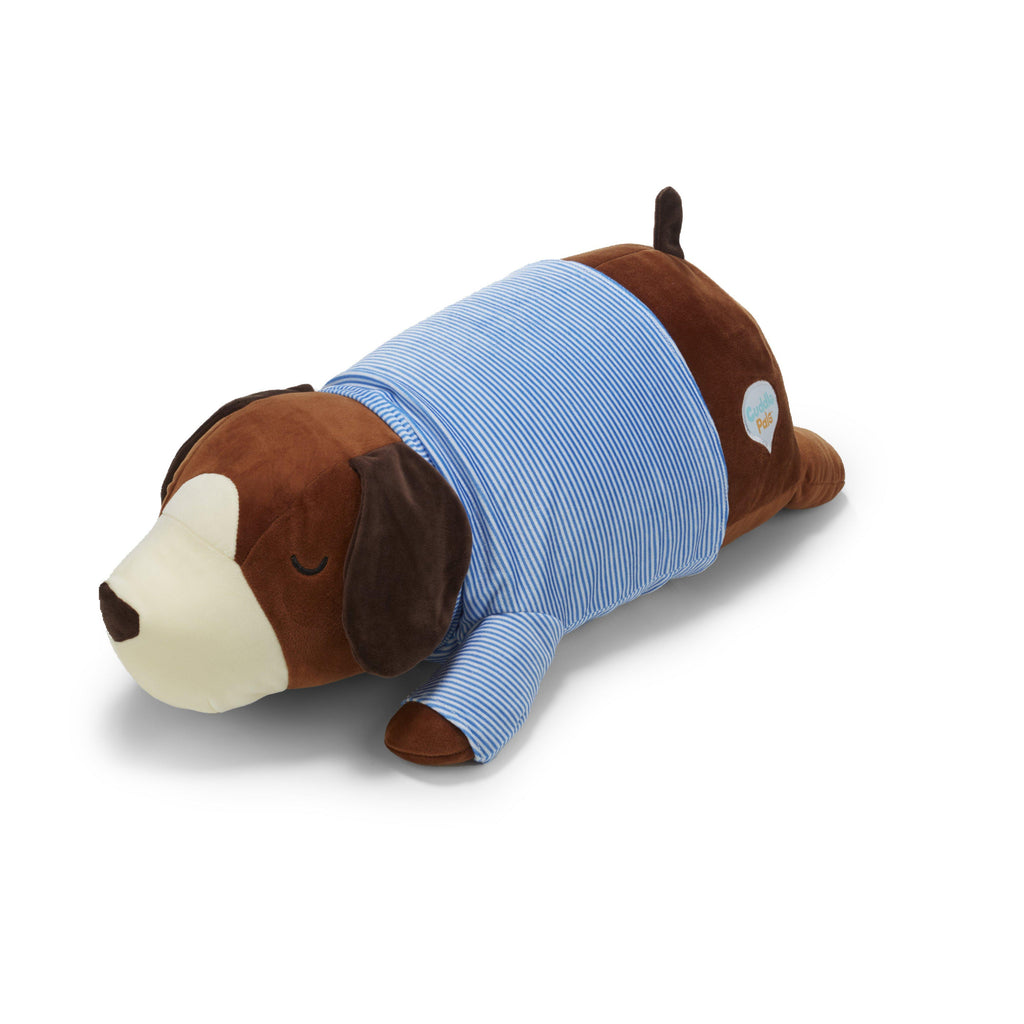 Cuddle Pals® Brown Dog Hug Pillow-90867-Kids Preferred