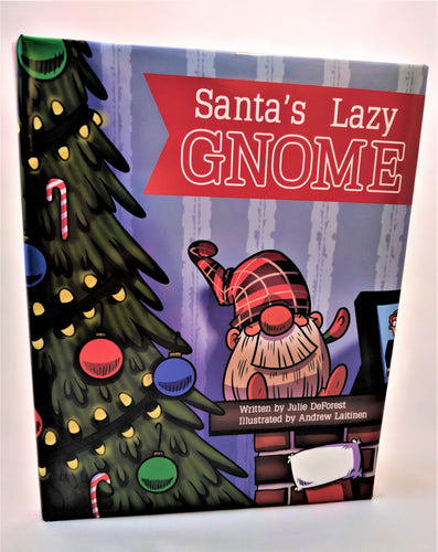 PaperBack!! Book Only - Santa's Lazy Gnome