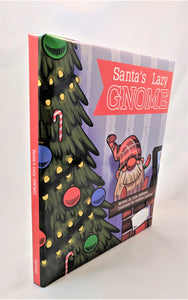 Gift Set | Santa's Lazy Gnome | Book & Plush Snowflake Gnome