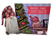 Santa's Lazy Gnome | Book & Argyle Gnome| The Alternative to Elf