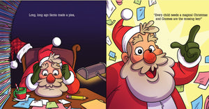Book Only - Santa's Lazy Gnome